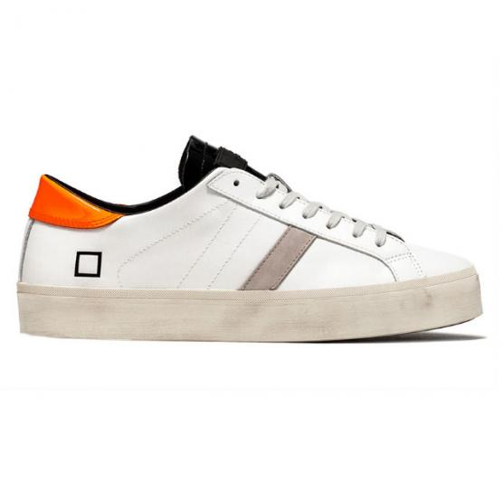 D.A.T.E. HILL DOUBLE FLUO FLUO WHITE-ORANGE