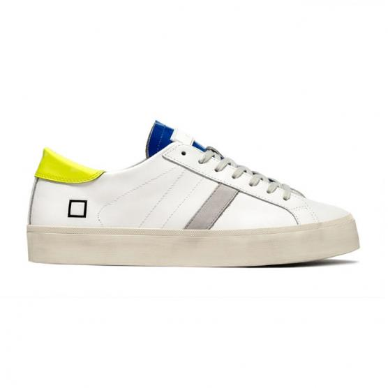 D.A.T.E. HILL DOUBLE FLUO FLUO WHITE-YELLOW