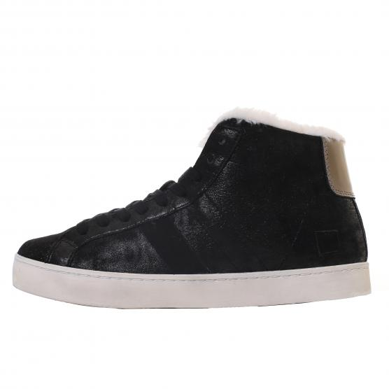D.A.T.E. HILL HIGH FUR STARDUST W BLACK