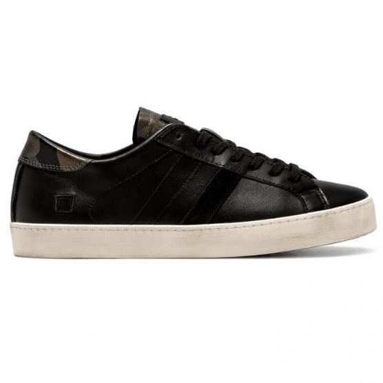 D.A.T.E HILL LOW POP BLACK-CAMO