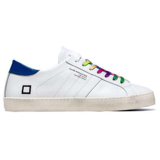D.A.T.E HILL LOW POP WHITE-COLORED