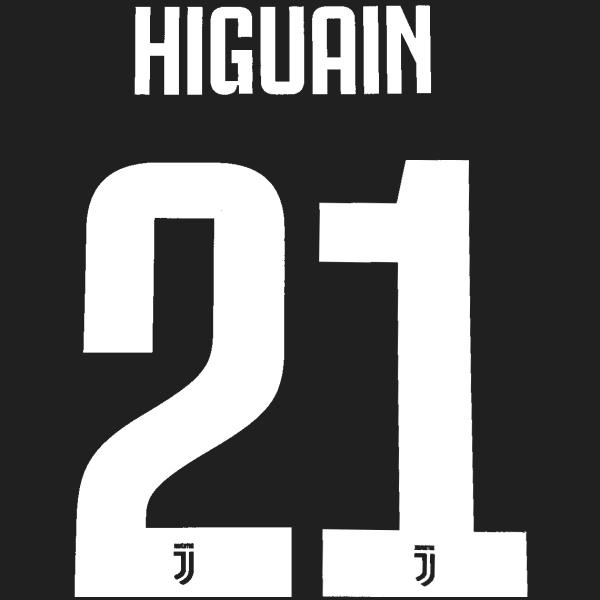 DEKOGRAPHICS 2020 STAMPS HIGUAIN 21 AD HOME