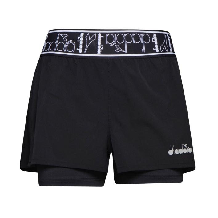 DIADORA L. DOUBLE LAYER SHORTS