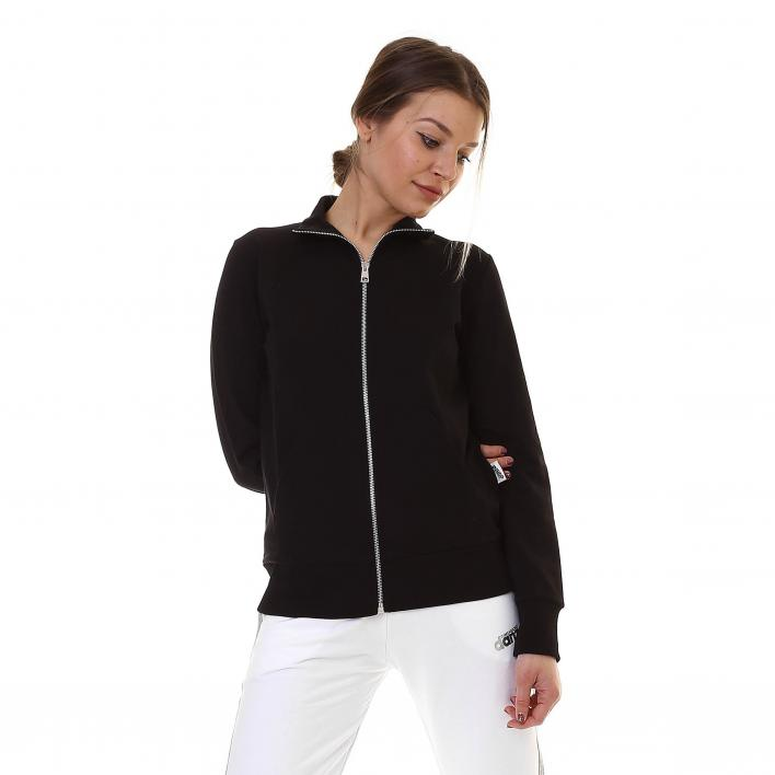 DIMENSIONE DANZA FULL ZIP IN FELPINA STRETCH DONNA