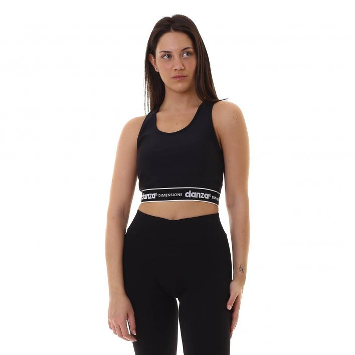 DIMENSIONE DANZA WOMAN TOP IN TECHNICAL JERSEY