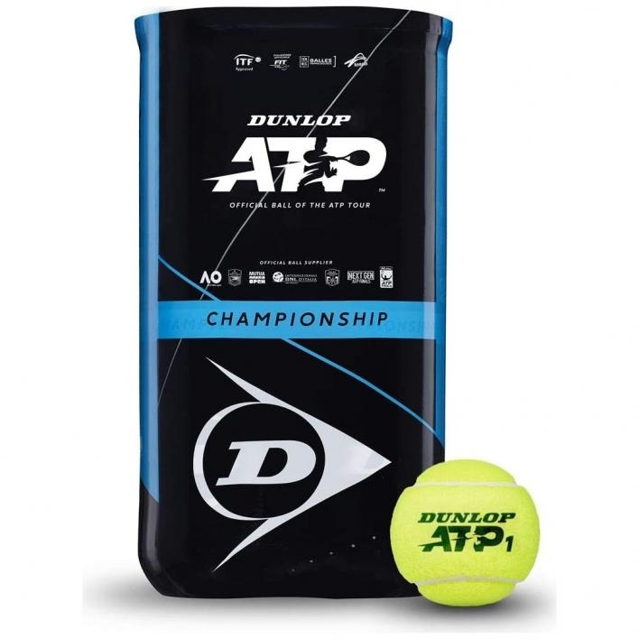 DUNLOP ATP CHAMPION SHIP BI-PACK 2X4PET SLEEVE