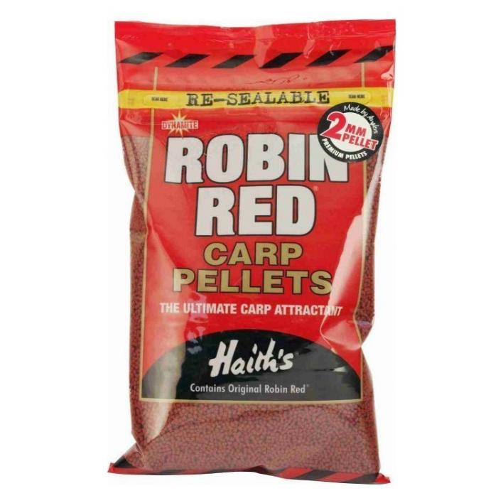 DYNAMITE BAITS CARP PELLETS ROBIN RED 2MM