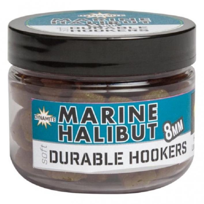 DYNAMITE BAITS DURABLE HOOK PELLET MARINE HALIBUT 8MM