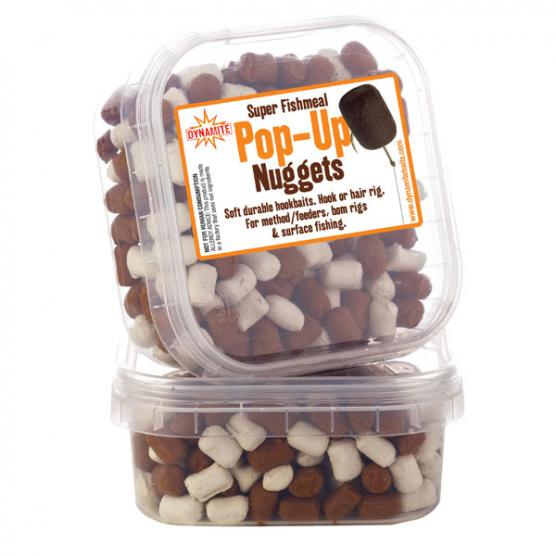 DYNAMITE BAITS MATCH PELLET WHITE/BROWN POP-UP