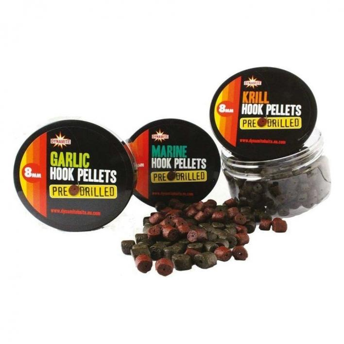 DYNAMITE BAITS PRE DRILLED HP GARLIC 8MM