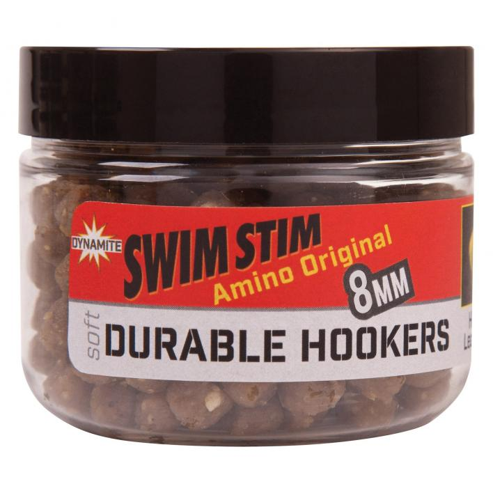 DYNAMITE BAITS SWIM STIM DURABLE HOOK PELLETS 8MM AMINO ORIGINAL