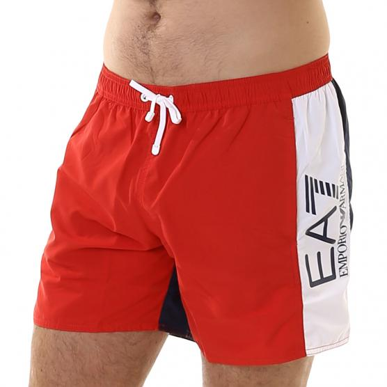 EA7 SEA WORLD BW CBLOCK M BOXER