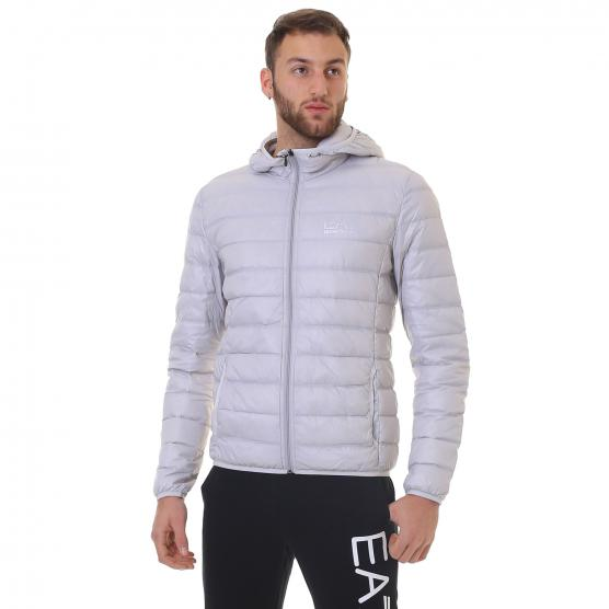 EA7 TRAIN CORE ID M LT DOWN JACKET HOODY