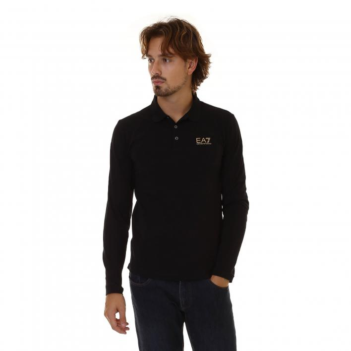 EA7 TRAIN CORE ID M POLO LS ST