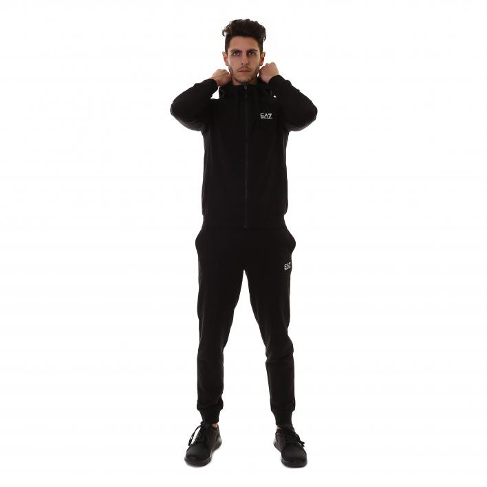 EA7 TRAIN CORE ID M T-SUIT HOODIE FZ CH COFT