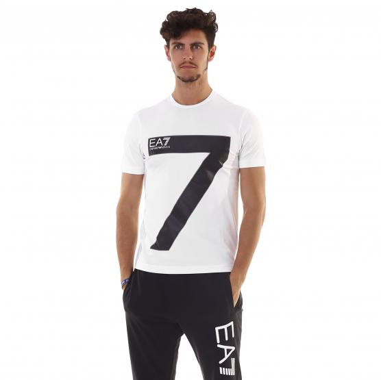 EA7 TRAIN GRAPHIC SERIES M SS TEE ST BIG 7 1100