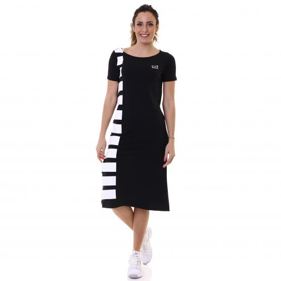 EA7 TRAIN MASTER W  LONG DRESS