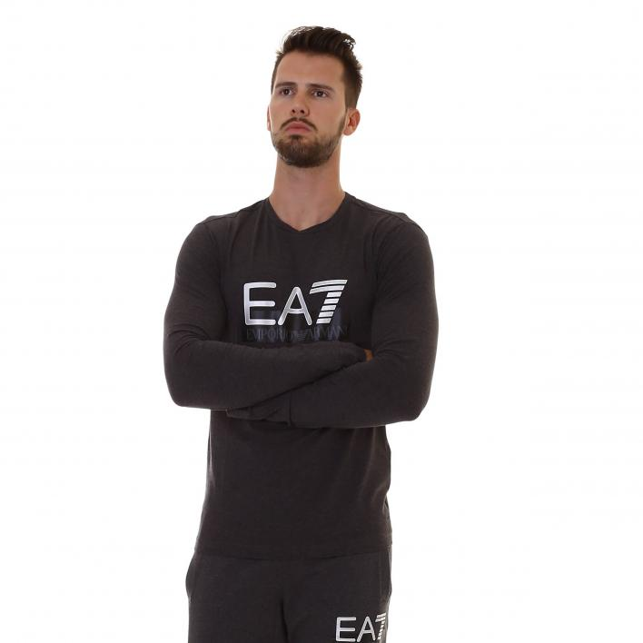 EA7 TRAIN VISIBILITY M TEE LS ST