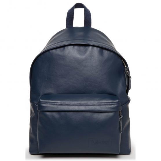 EASTPAK PADDED PAK'R NAVY LEATHER