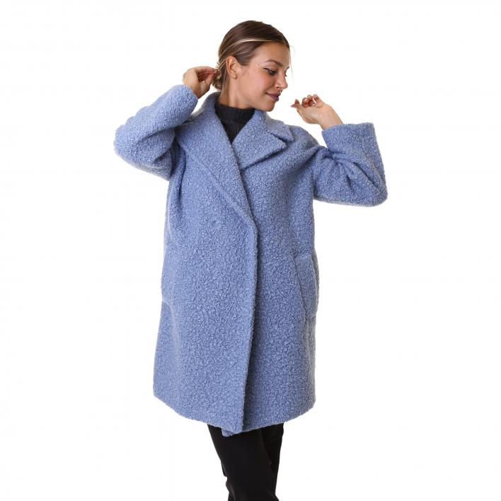 EMME MARELLA INFANTE CAPPOTTO GIACCONE JERSEY