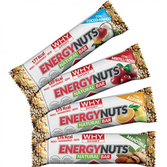 WHY SPORT Energy Nuts Mirtillo Rosso