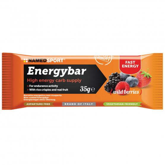 NAMEDSPORT Energybar Fruit Wild Berries 35g