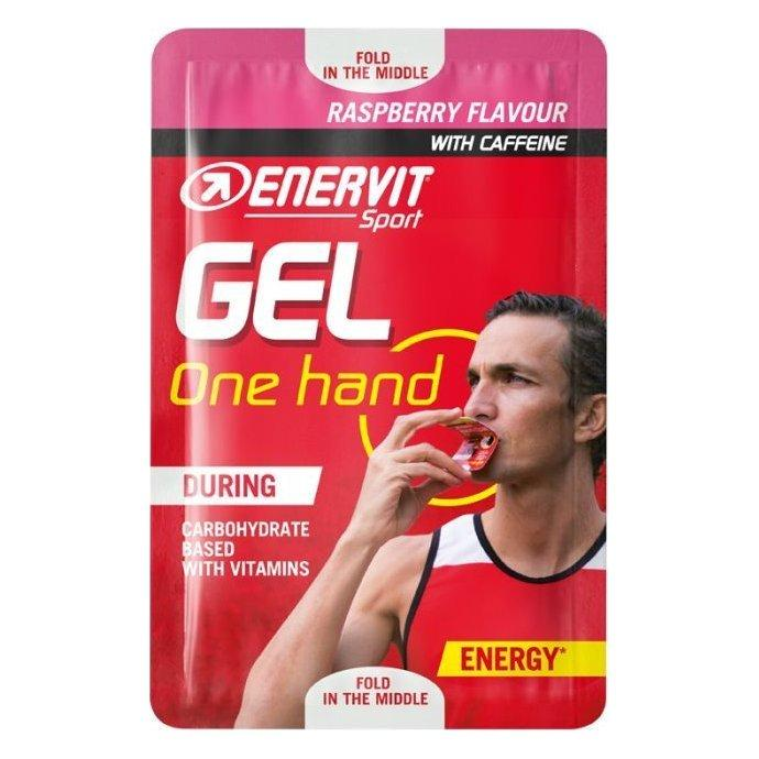 ENERVIT Sport Gel One Hand Raspberry