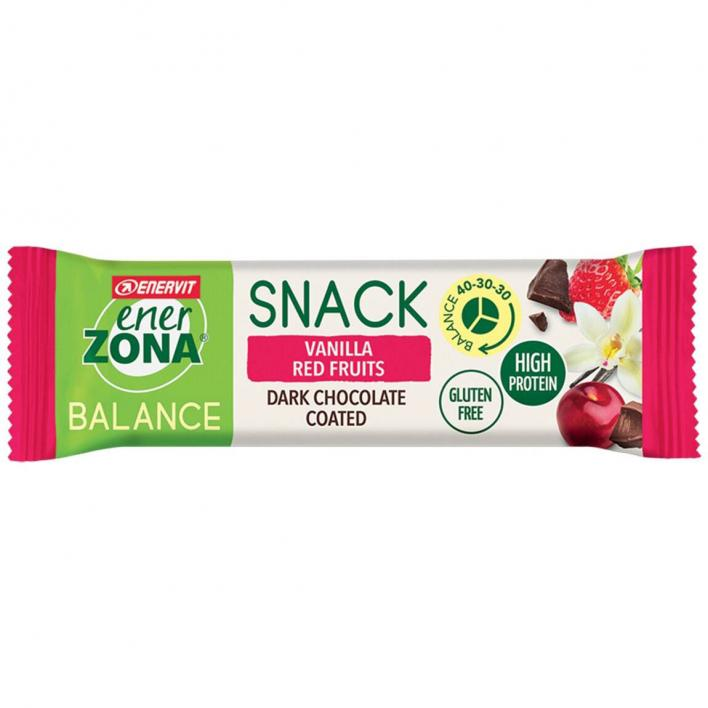 ENERZONA Snack Vanilla Red Fruits