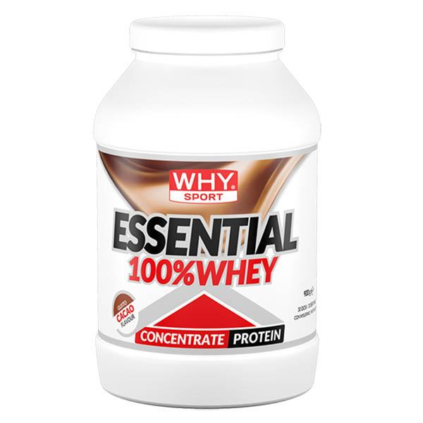 WHY SPORT Essential 100% Whey Choco 900g