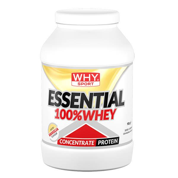 WHY SPORT Essential 100% Whey Vaniglia 900g