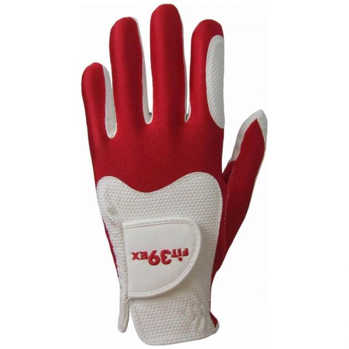 FIT39 GUANTO GOLF RED/WHITE