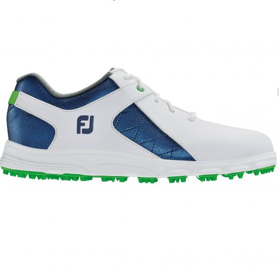 FOOT JOY  JUNIOR JNR WHITE/BLUE