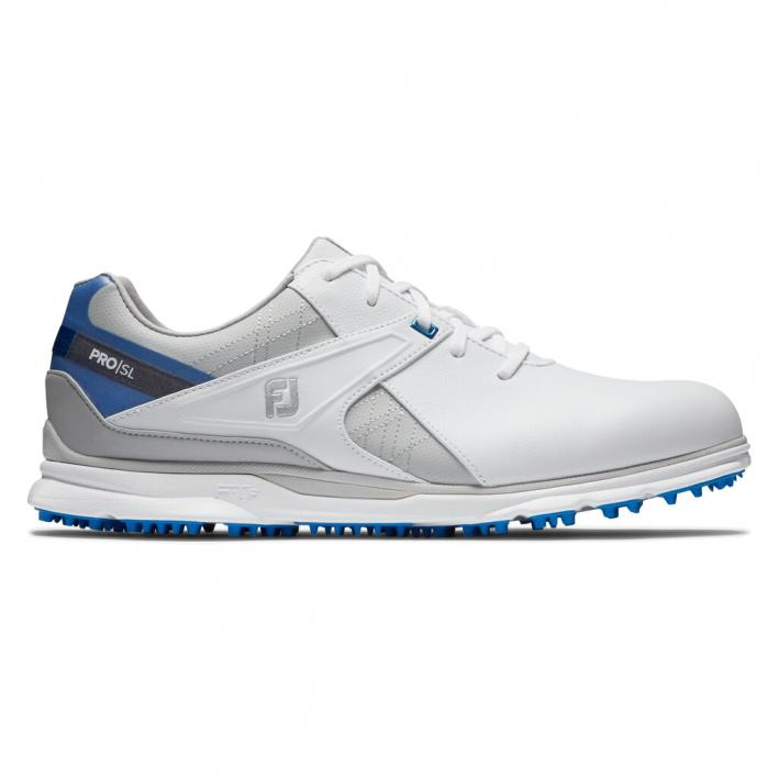 FOOT JOY PRO SL WHITE/GREY/BLUE