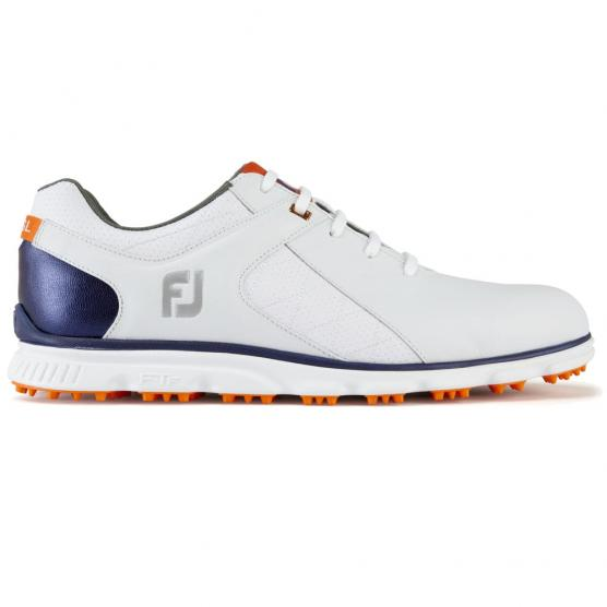 FOOT JOY PRO SL WHITE/NAVY/ORANGE