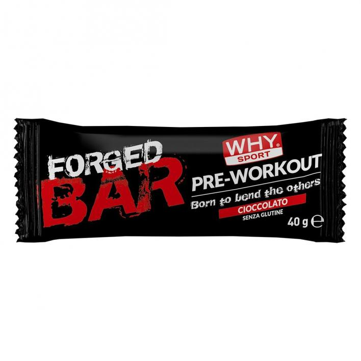 WHYSPORT Forged Bar Pre-Workout Chocolate