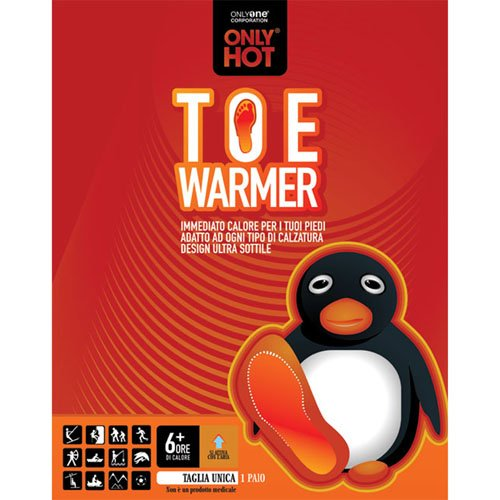 ONLY HOT Toe Warmer Pair of Toe Warmers Duration 6+ Hours
