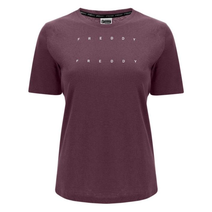 FREDDY BASIC COTTON LIGHT JERSEY T-SHIRT