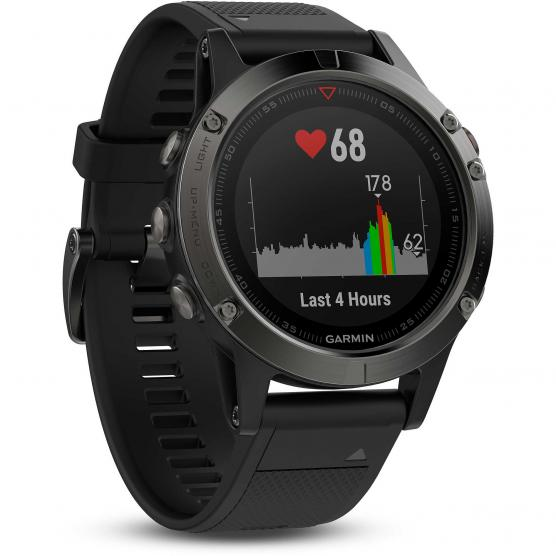 GARMIN FENIX 5 GREY BLACK