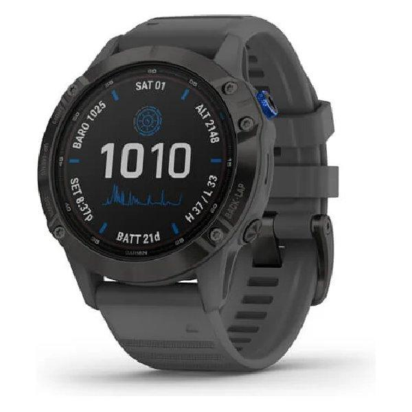 GARMIN FENIX 6 PRO SOLAR EDITION 47MM BLACK SLATE