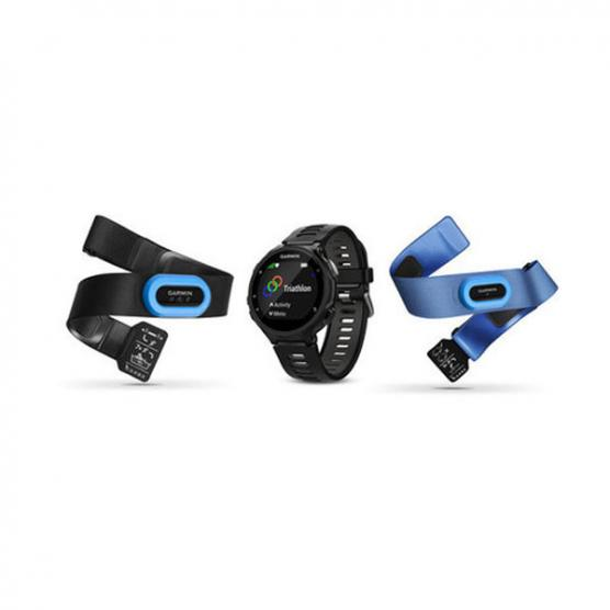 GARMIN FORERUNNER 735XT TRI BUNDLE BLACK/GRAY