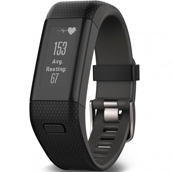 GARMIN VIVOSMART HR+ GPS WW BLACK EXTRA LARGE