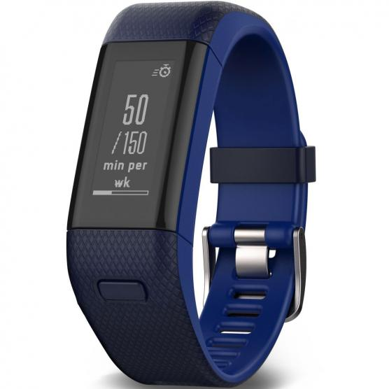 GARMIN VIVOSMART HR+ GPS WW BLUE REGULAR