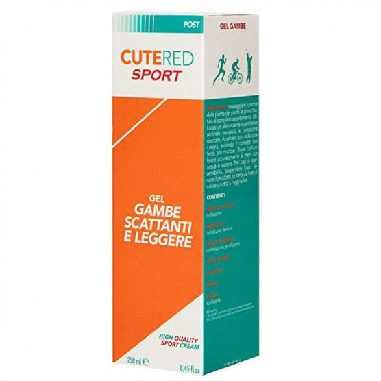 CUTERED Gel Gambe Scattanti 250ml
