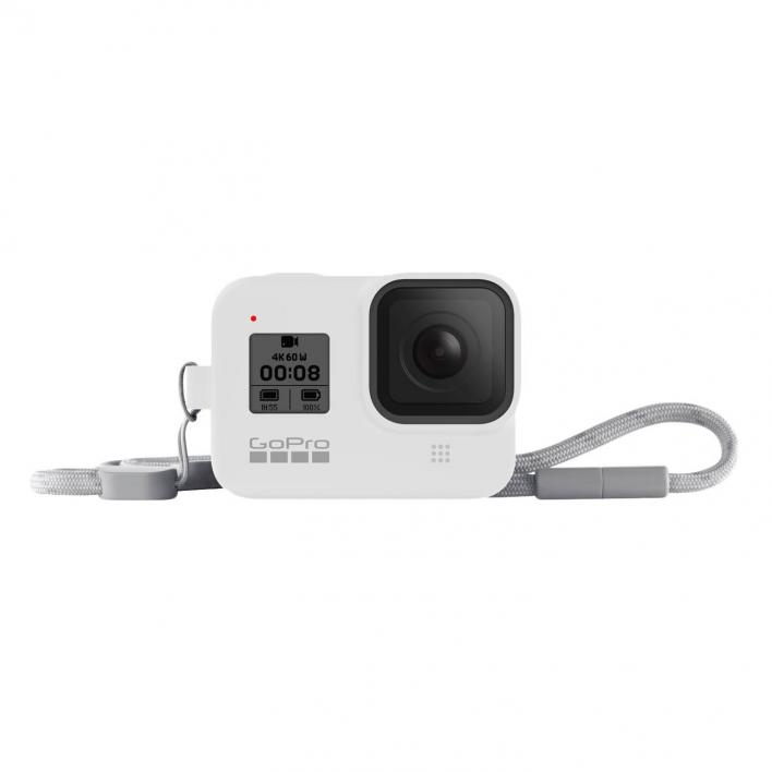 GO PRO SLEEVE+LANYHARD HERO8 BLACK (WHITE HOT)