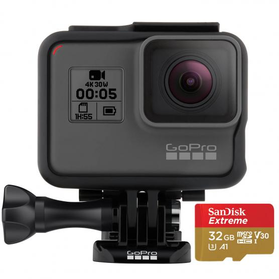 GOPRO Hero5 Black + Micro SD 32GB
