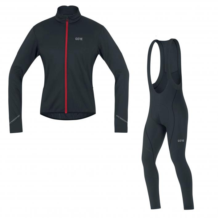 GORE C5 WS Thermo Jacket + C3 Thermo Bibtight