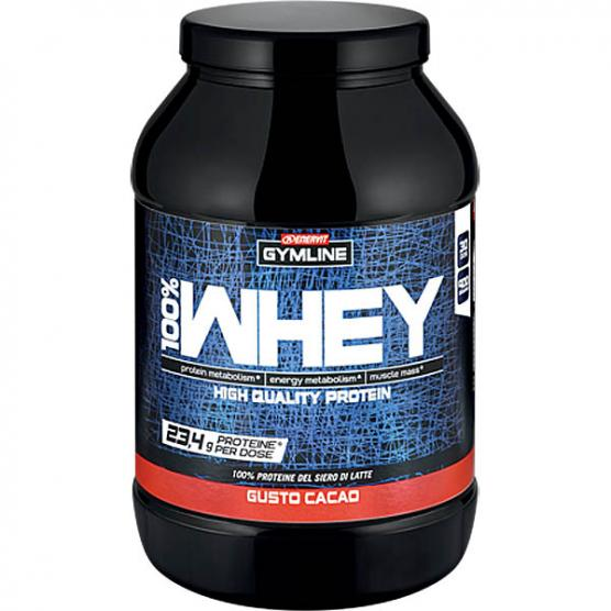 ENERVIT GYMLINE 100% Whey Protein Concentrate Cacao 900