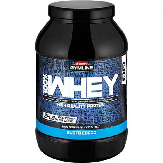 ENERVIT GYMLINE 100% Whey Protein Concentrate Cocco 900