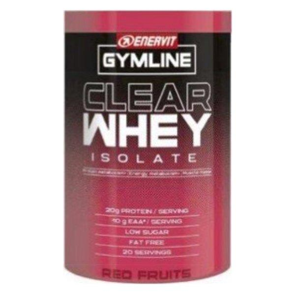 ENERVIT GYMLINE CLEAR WHEY ISOLATE RED FRUITS 480G