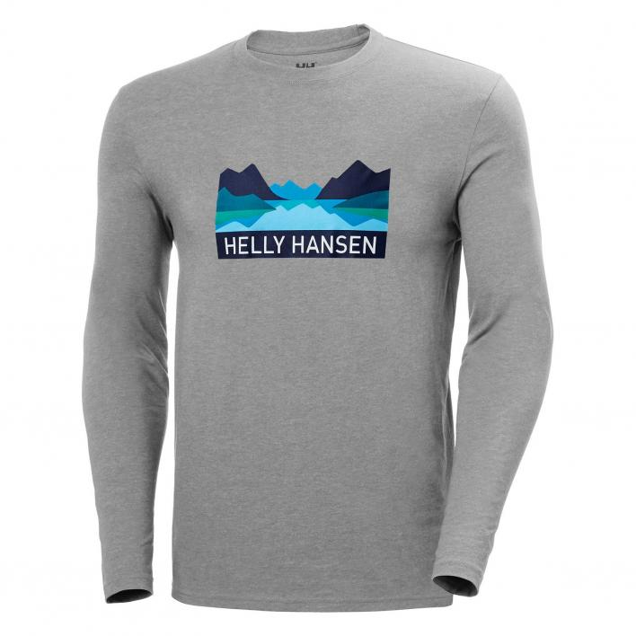 HELLY HANSEN NORD GRAPHIC LONG SLEEVE T-SHIRT